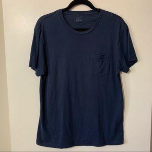 J. Crew Factory Slim -Washed Blue T-shirt